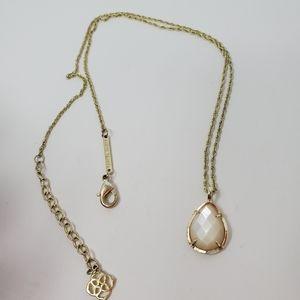 Kendra Scott Kiri Necklace in Ivory Pearl